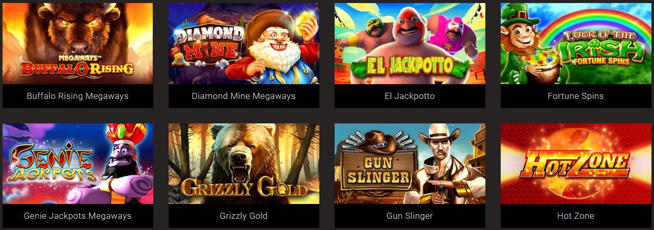 Blueprint casino slots